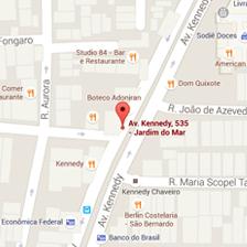 Avenida kennedy, 535<br />São Bernardo do Campo
